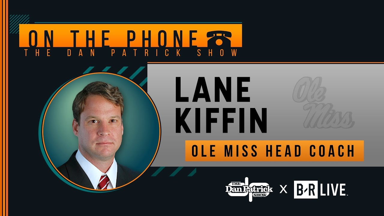 Lane Kiffin Talks Ole Miss, Nick Saban, USC & More with Dan Patrick | Full Interview | 12/11/19