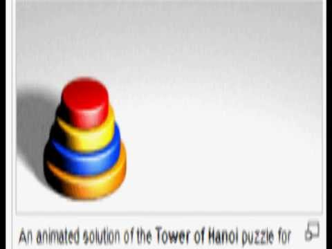 Solve Four Disc Tower of Hanoi