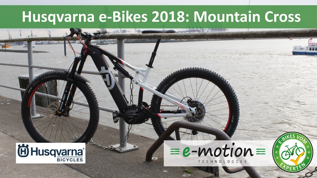 pexco e bikes 2018 husqvarna mountain cross mc6. Black Bedroom Furniture Sets. Home Design Ideas