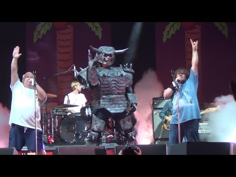 Tenacious D - The Metal - Festival Supreme 2013