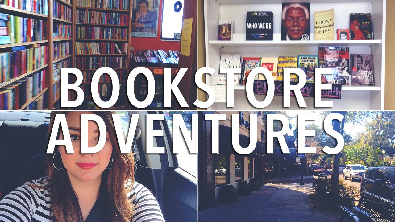 Vlog | Bookstore Adventures