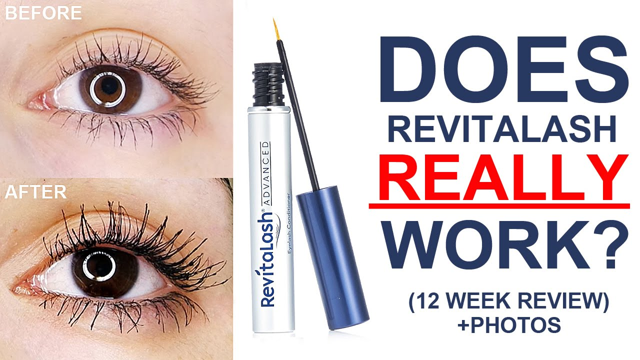 0b78ccb52ca HOW TO GROW LONG LASHES! | Revitalash Review - YouTube