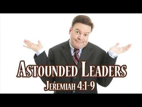 2016-10-09 Astounded Leaders (Pastor Rob McNutt)
