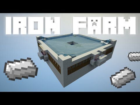 Minecraft: Iron Farm [Works In 1.13]