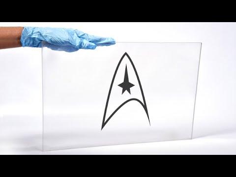 transparent aluminum star trek