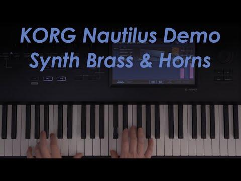 Korg Nautilus Demo - Synth Brass & Horns