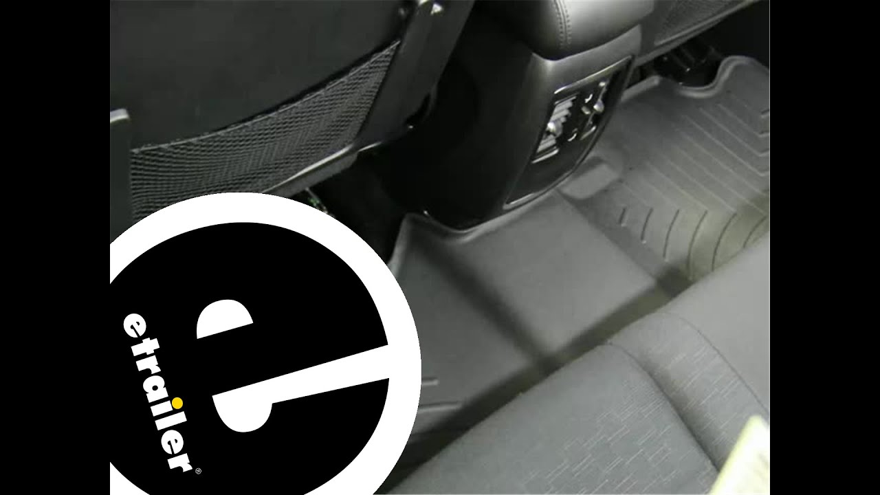 Floor mats jeep cherokee 2015 - Review Of The Weathertech Rear Floor Mats On A 2011 Jeep Grand Cherokee Etrailer Com Youtube