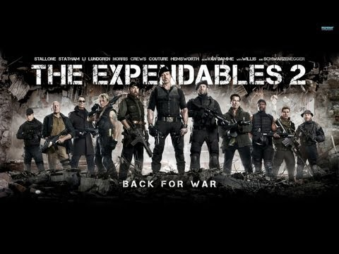 The Expendables 2 - German Trailer HD