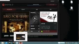 как зайти корейскую Dota 2. nexon