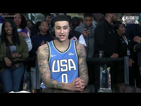 Rising Stars: Kyle Kuzma Talks Winning MVP