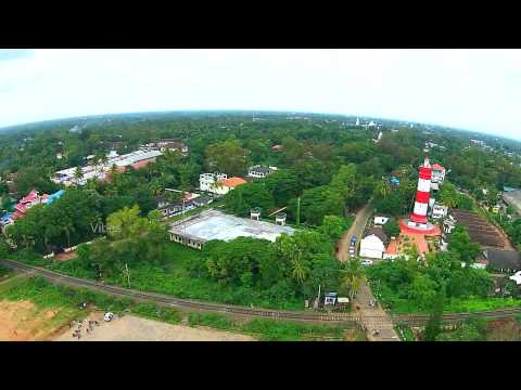 Alleppey Beach & Light House