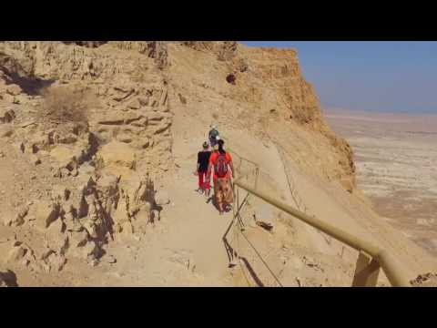 Walking Down Masada | Beit Tehila Congeration