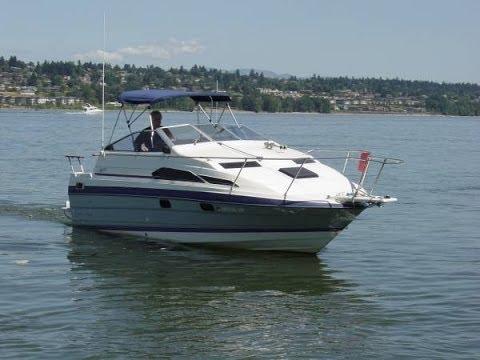 Bayliner 24 Ciera 2455 Cruise Video