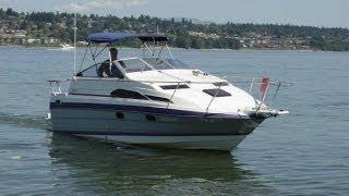 Bayliner 24' Ciera 2455 Cruise Video