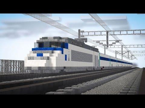 Minecraft Train to Busan KTX Animation Part 2