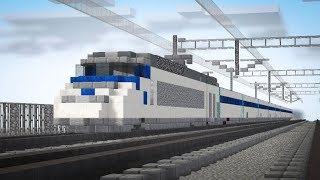 Minecraft Train to Busan KTX Animation Part 2