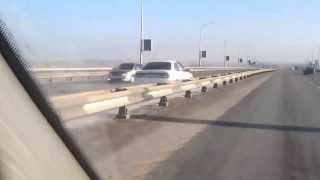 11.11.2013 Чак Норрис на Новом мосту в Барнауле!