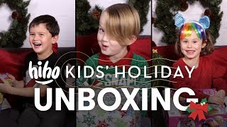 Holiday Unboxing | Unboxing | HiHo Kids