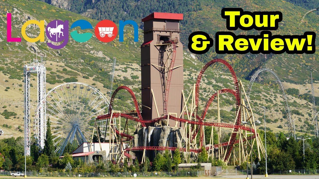 Download Lagoon Amusement Park Full Tour & Review + POVs 2020!