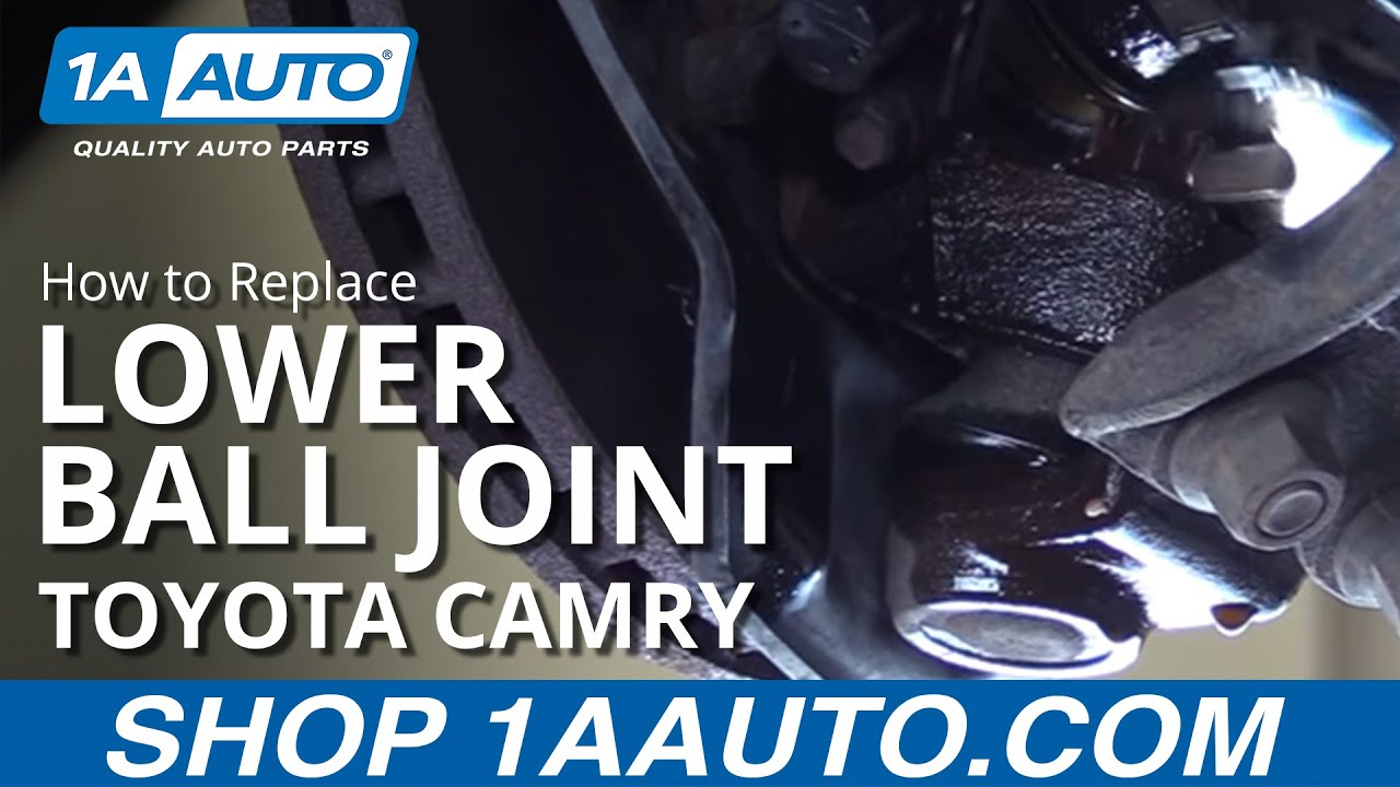 How to Replace Front Lower Ball Joint 92-01 Toyota Camry
