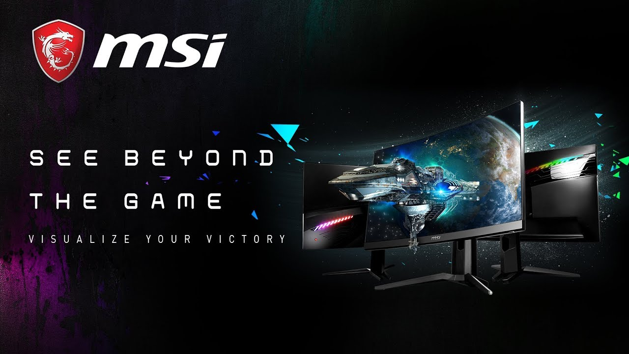 See Beyond the Game, Visualize Your Victory : New MAG Series Curved Gaming LED monitor | | MSI
