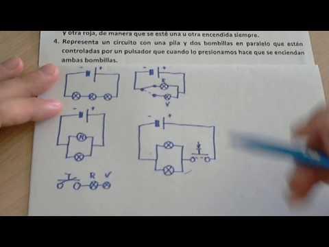 Representar con s�mbolos circuitos el�ctricos