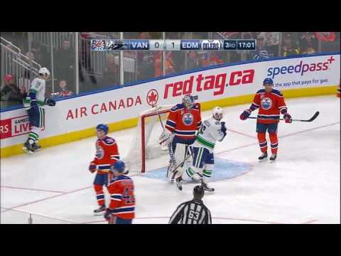 Vancouver Canucks vs Edmonton Oilers - March 18, 2017 | Game Highlights | NHL 2016/17