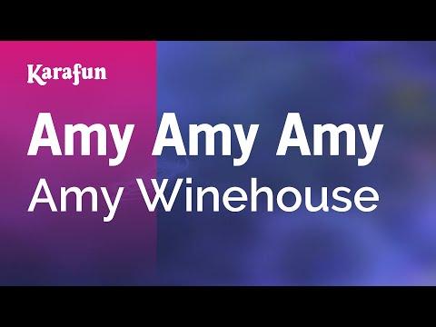 Karaoke Amy Amy Amy - Amy Winehouse *