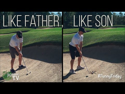 Like Father, Like Son... Almost #FunnyFriday