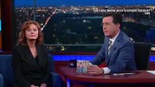 Susan Sarandon: Clinton scarier than Trump