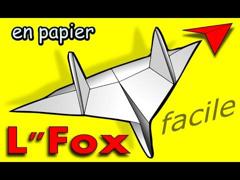 Comment Faire Un Avion En Papier Qui Vole Très Bien Et Longtemps