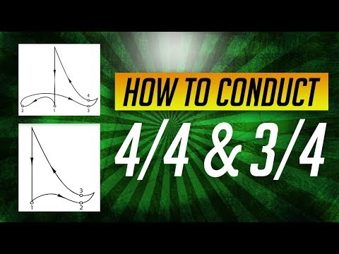 How to Conduct Music: Lesson #2Conducting Simple Meters 44, 34 & 24