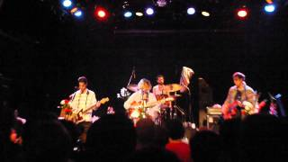 "Girls - ""Just A Song"" Debut live @Bowery Ballroom, NY 09/22/2011"