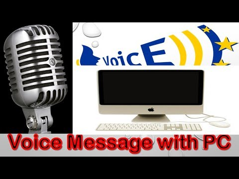 How To Send Voice Message  In Facebook Using PC-New -Sending Voice Message In Fb Messenger Computer