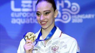 Чемпионка Европы Варвара Субботина