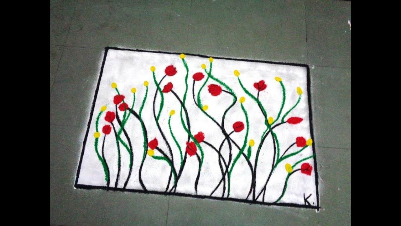 latest poster rangoli - YouTube for poster rangoli designs for diwali  585eri