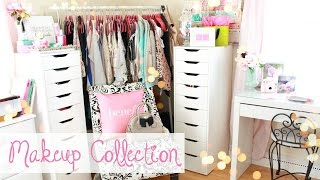 How I Organize My Makeup Collection | Belinda Selene