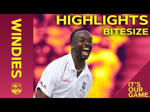 Windies vs England 1st Test Day 2 2019 | Bitesize Highlights