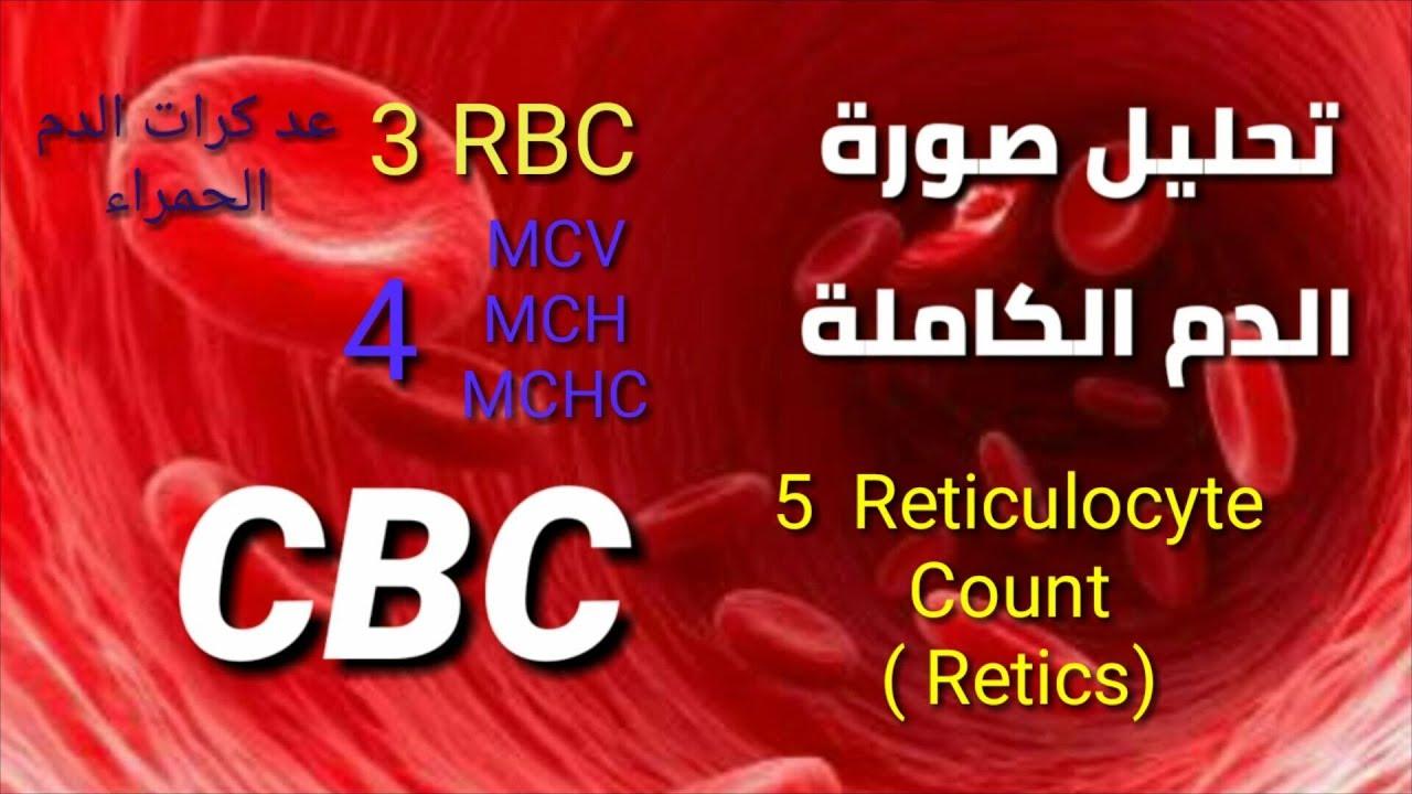 تحليل Rbcs Reticulocyte Mcv Mch Mchc تعليم التحاليل الطبية للمبتدئين Youtube