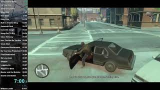 (NEW World Record) Grand Theft Auto IV Any% Speedrun in 3:44:44