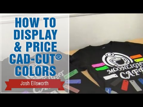 How to Display and Price CAD-CUT® Heat Transfer Vinyl