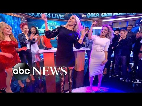 DWTS Season 24 Cast Plays Wedding Dance Game Live on 'GMA'