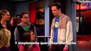 Sheldon Cooper: Amy and Bernadette, Why did you lie to us?! - SUBTITULADO