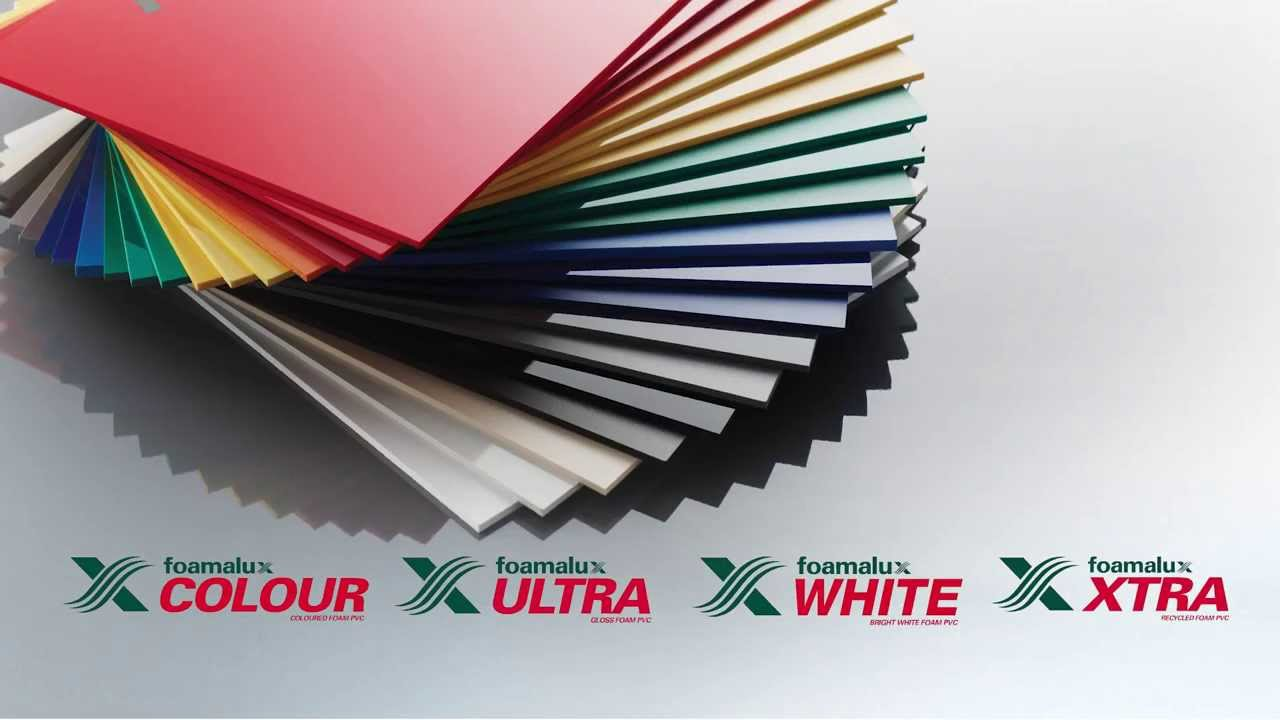Design Create And Innovate With Foamalux Foam Pvc Sheet