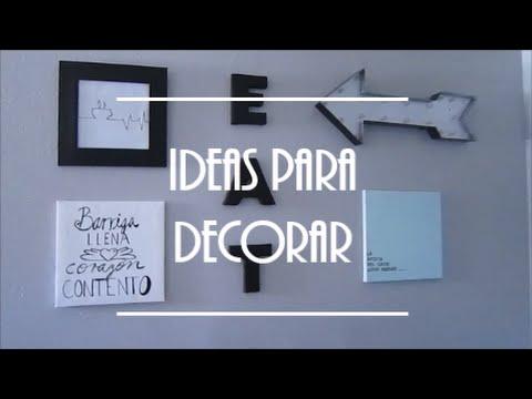 Ideas para decorar con poco dinero comedor youtube - Ideas para decorar con poco dinero ...