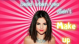 Selena gomez - HIT THE LIGHTS - When the sun goes down - HQ LYRICS - FROM CD