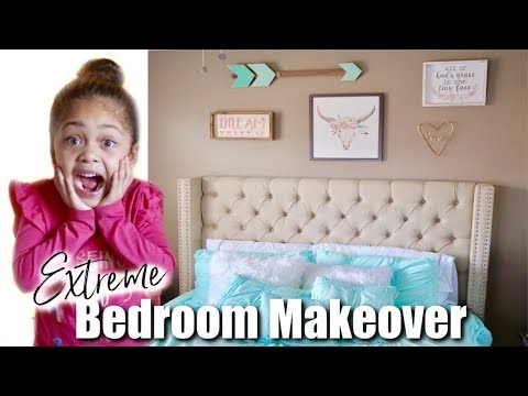 SURPRISE BEDROOM MAKEOVER   EARLY🎄CHRISTMAS GIFT   RAISINGHALO