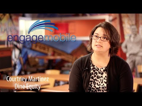 IHOP - Applebee's - Dine Equity - Client Testimonial Video for Engage Mobile