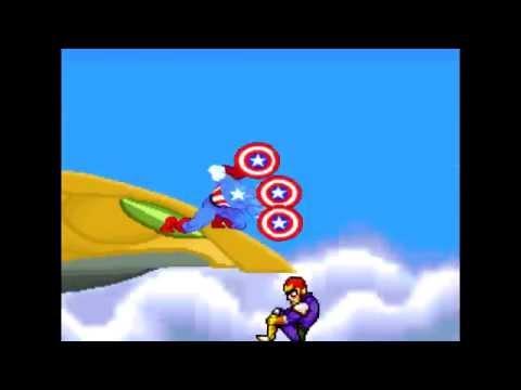 Captain America VS Captain Falcon
