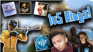 TOP 10 BEST 1V5 SOLO FIRETEAM WIPES OF ALL TIME! KING OF 1V5 RULES OF SURVIVAL (REACTION)